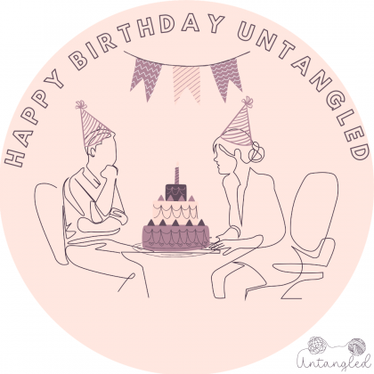 Untangled Birthday! New psychological practice in the Netherlands and online